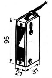 Микропереключатель ABLOY 8400